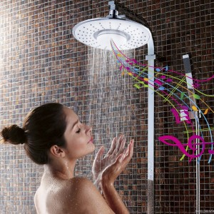 bluetooth shower head speaker