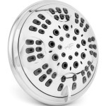 aqua elegante high flow shower head
