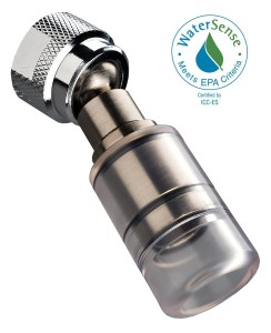 high sierra high efficiency low flow shower head