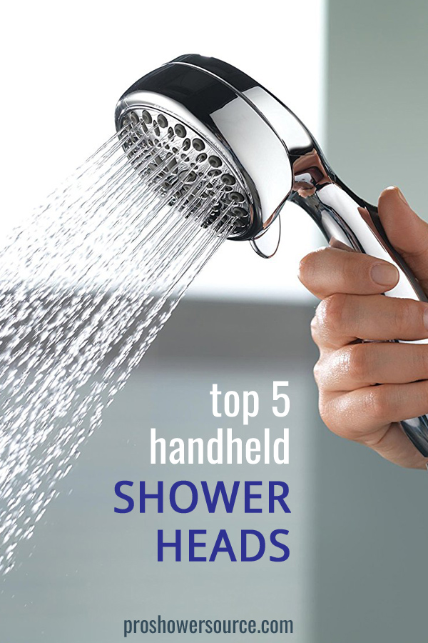 Top 5 Handheld Shower Head Reviews | Pro Shower Source