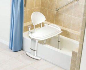 moen bath transfer bench