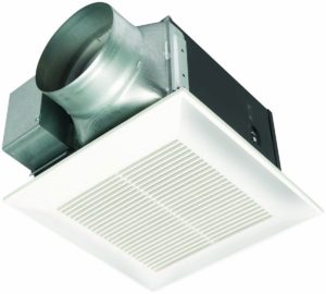 panasonic whisperceiling exhaust fan for bathroom