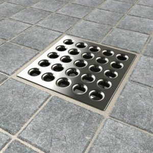 ebbe square shower drain grate